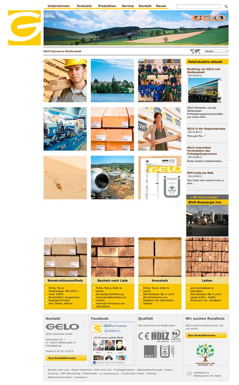 Startseite GELO Homepage