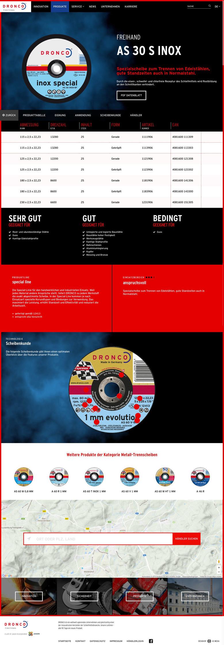 Die Produktdetailseite versorgt mit detaillierten Informationen