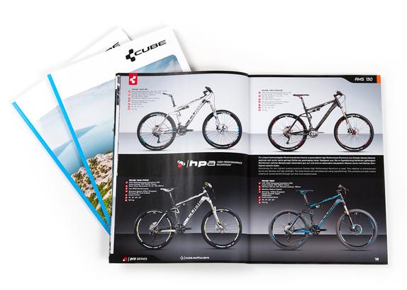 Geballte Bike-Action –der CUBE Endverbraucherkatalog