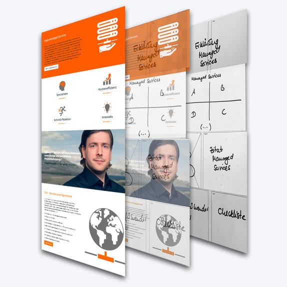 Konzeption mithilfe von Card Sorting