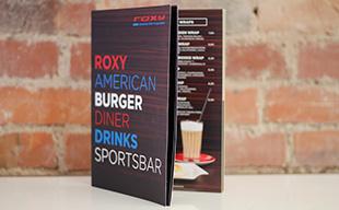 Fotoshooting und Speisekarte für American Diner