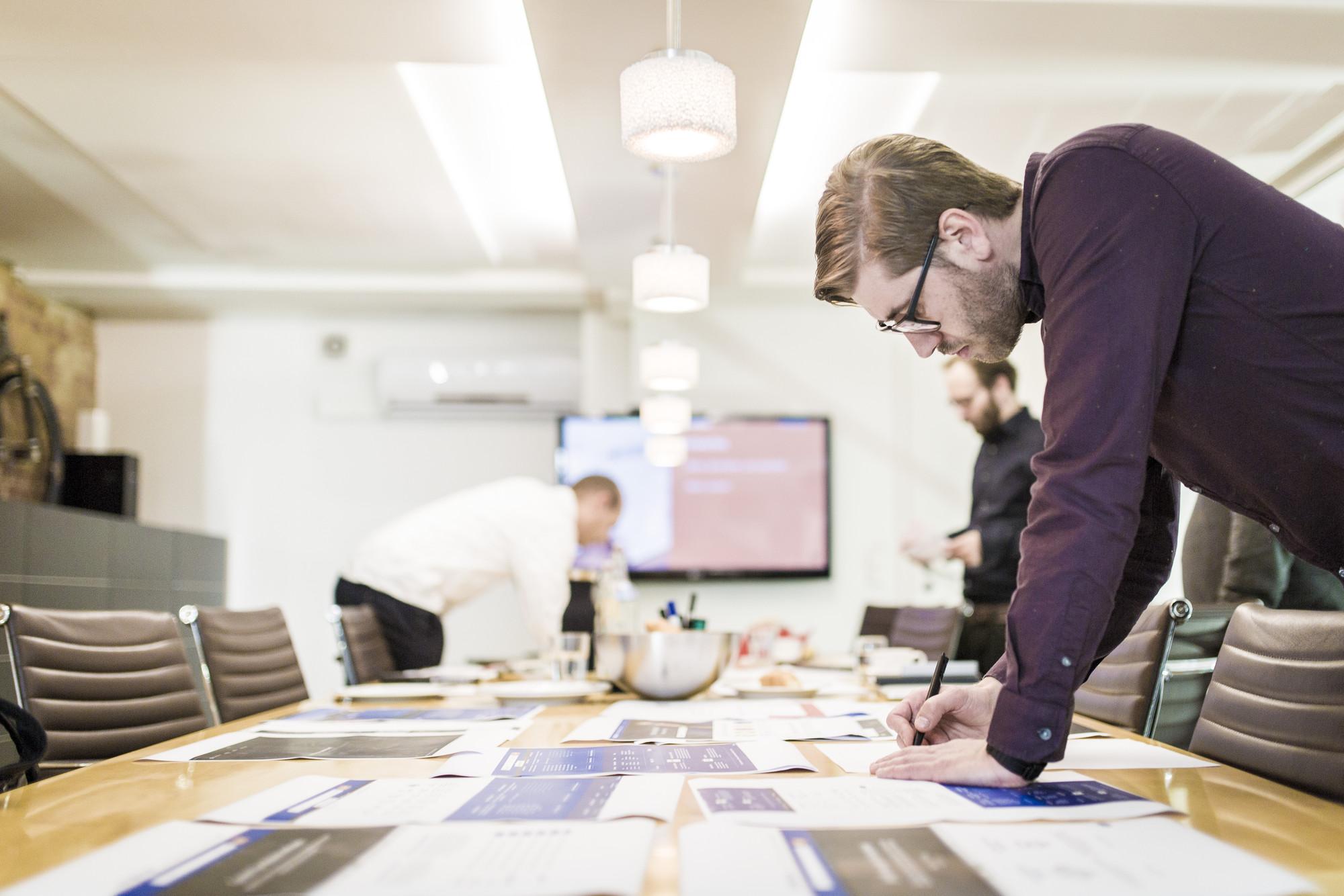 Während des Workshops wurden eine Menge neuer Ideen zu Papier gebracht.