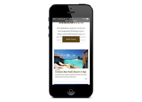 Einfache Bedienbarkeit auf Smartphones und Tablets