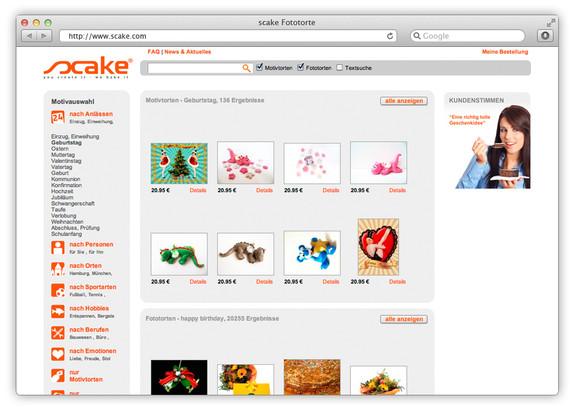 Online produktdesigner f r foto torten mit fotolia for Bekannte produktdesigner