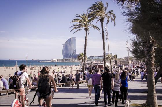Barcelona, zugegeben auch ohne OFFF eine Reise wert ;-)