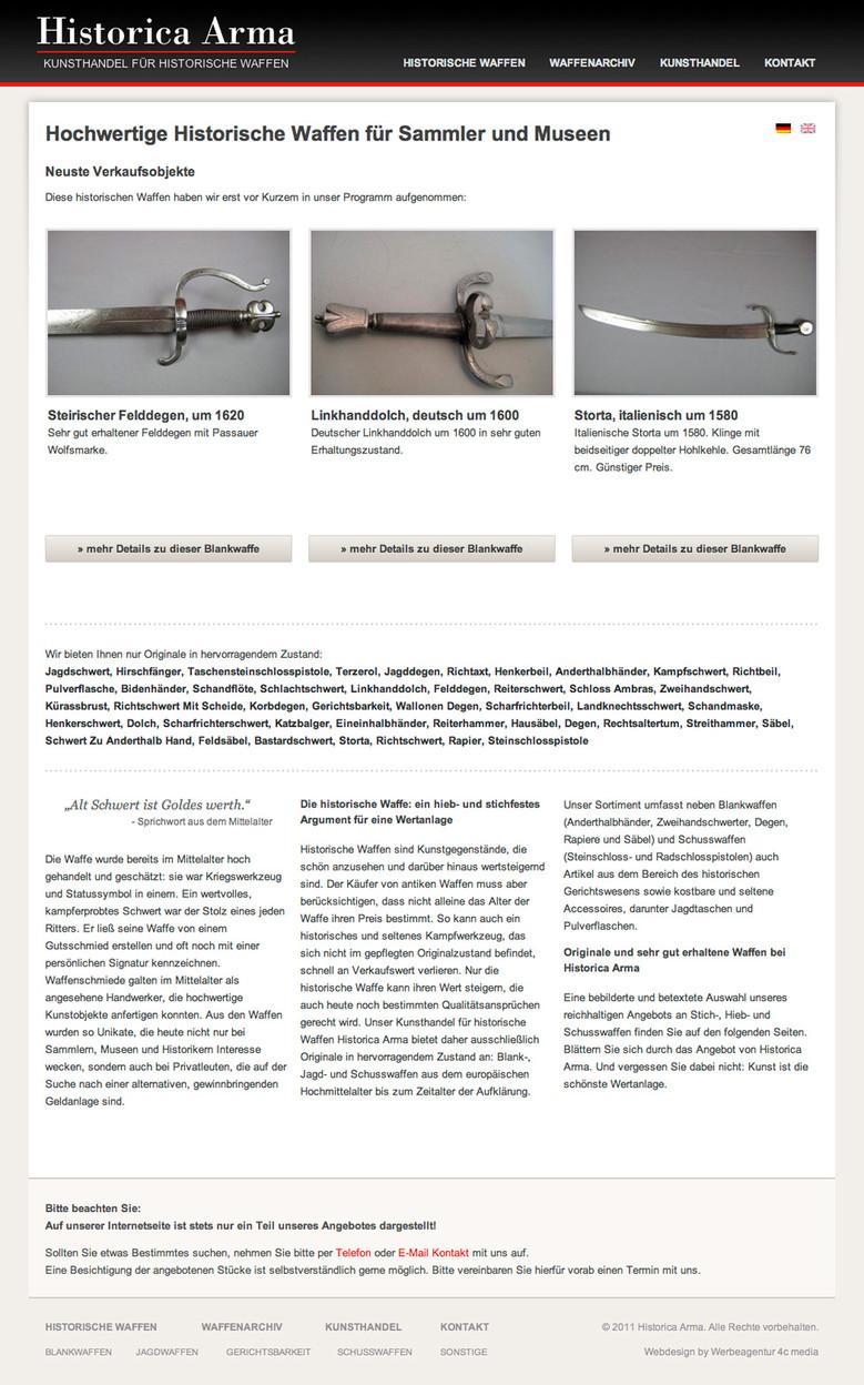 Historica Arma – Startseite