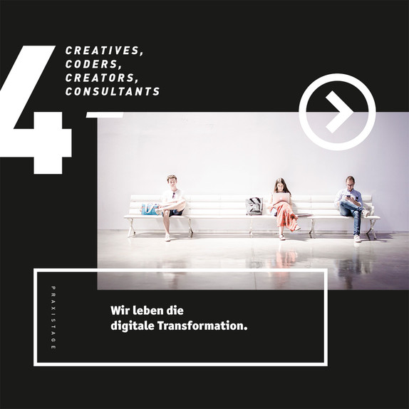 4c media Praxistage – 4Creatives, 4Coders, 4Creators, 4Consultants