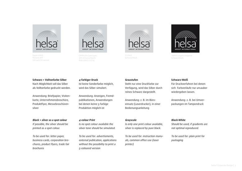 helsa-Logo im Einsatz