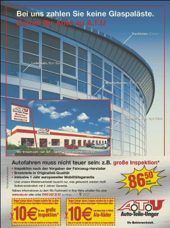 Simulation der Druckbedingung bei Veröffentlichung der Anzeige in der BILD-Zeitung, gedruckt im Rollenoffset auf Zeitungspapier.