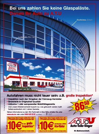 Simulation der Druckbedingung, wenn die Anzeige für das FOCUS Magazin im Tiefdruck bei Burda auf LWC-Papier gedruckt wird.