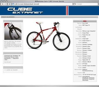 Online Bilddatenbank zur Verteilung von freigestellten Fahrrad Bildern an Verlage, Händler, Importeure.