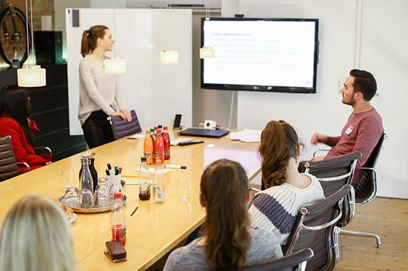 Workshop über Online Marketing