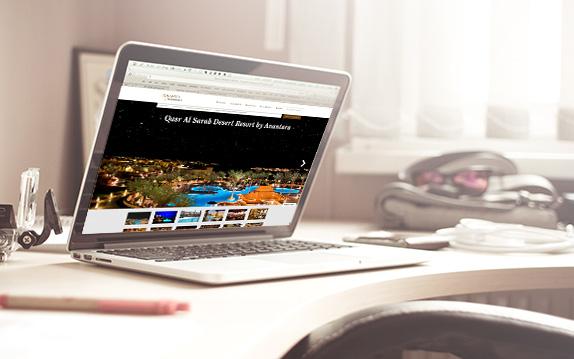 Asien Reiseprofi, ein Beispiel für gute Bilder und reduzierte Gestaltung.