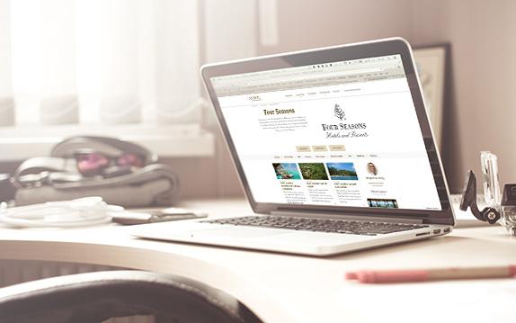 Asien Reiseprofi - Reduziertes Webdesign