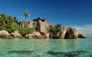 Reisen zu den Seychellen