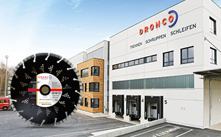 Corporate Website für DRONCO auf Basis von TYPO3