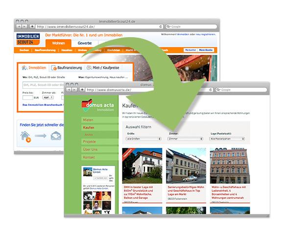 ImmobilienScout24-API bietet viele Möglichkeiten