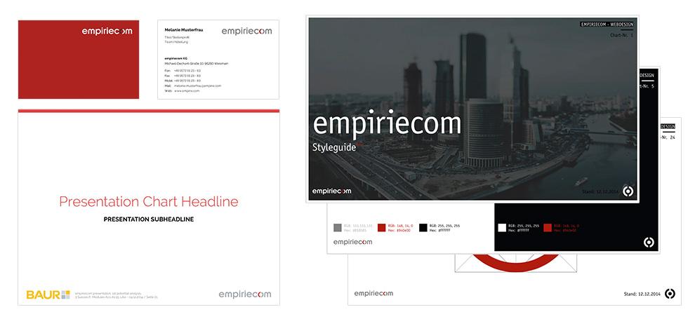 Website, Styleguide, Geschäftausstattung