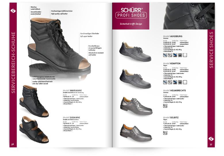 Schuhe für den Servicebereich